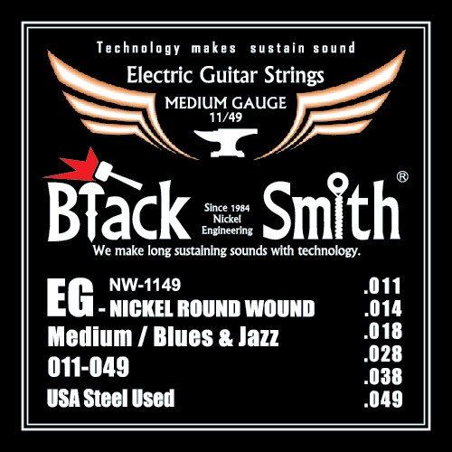 Black Smith NW-1149 - Encordoamento p/ guitarra