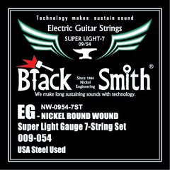 Black Smith NW-0954-7ST - Encordoamento p/ Guitarra 7 Cordas