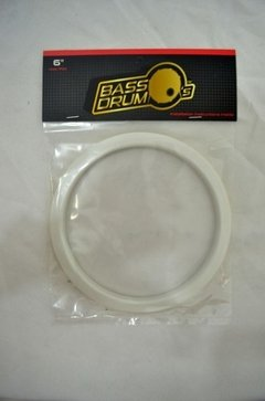Hole/port Bass Drum's - Molde P/ Furo No Bumbo - Branco 6
