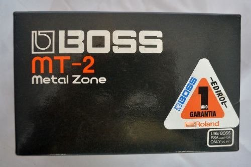 Pedal Boss Mt2 - Metal Zone - Solsete Musical