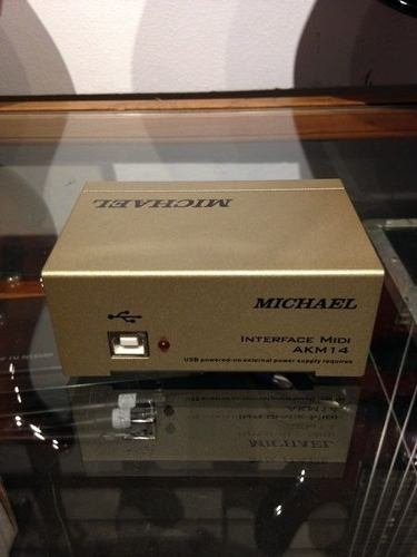 Michael Akm 14 - Interface Midi/usb - Solsete Musical