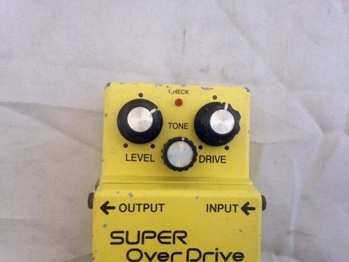 Pedal Boss Sd1 - Super Overdrive na internet