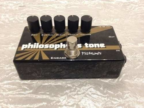 Pedal Pigtronix Philosopher's Tone Engage - Compressor - Solsete Musical