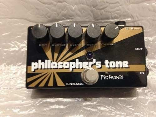 Pedal Pigtronix Philosopher's Tone Engage - Compressor na internet