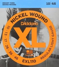Daddario EXL110 Nickel Wound .010 - .046 - Encordoamento p/ guitarra