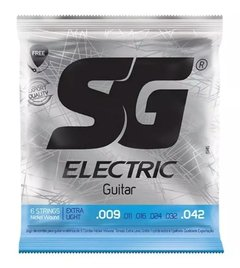 Encordoamento SG para Guitarra .009  Extra Light