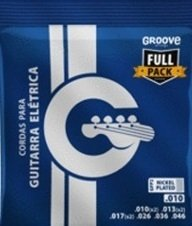 Groove GFP2 Full Pack .010 - .046 - Encordoamento p/ Guitarra