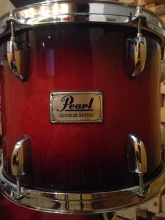 Bateria (Shell Pack) Pearl Sessions Series Gloss Barnwood Brown - 22/ 16/ 13/ 12 na internet