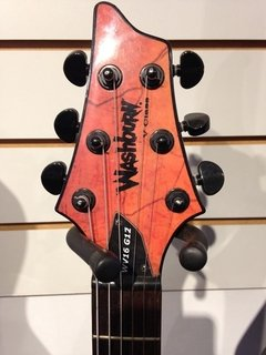Guitarra Washburn WV16 G12 Model Flying V Skull (usada)
