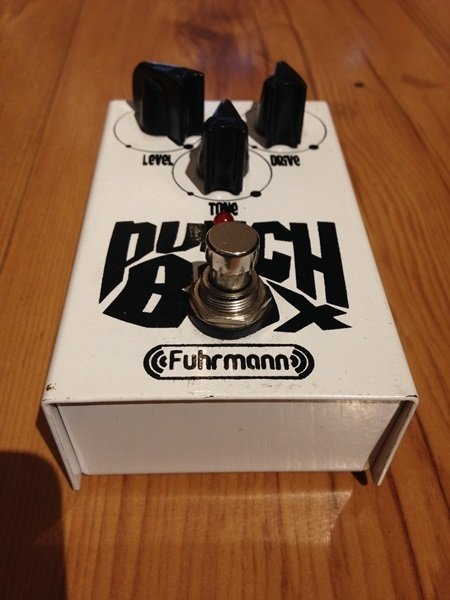 Pedal Fuhrmann Punch Box - Solsete Musical