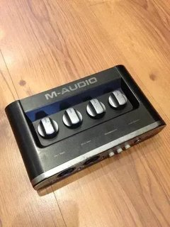Interface De Áudio M-audio Mobile Pre