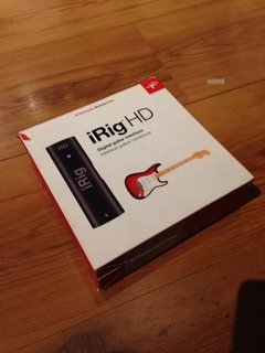 Interface Guitarra Irig Hd iPhone iPad - Ik Multimedia - Usado - comprar online