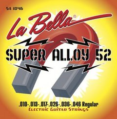 Encordoamento Guitarra La Bella Super Alloy Regular .010 SA1046