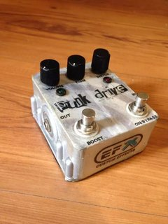 Pedal Efx Custom Effects - Punk Drive (usado)