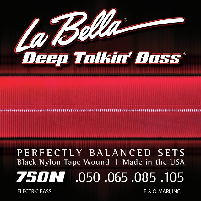 La Bella Deep Talkin' Bass 750N - Encordoamento Tape Wound p/ Baixo