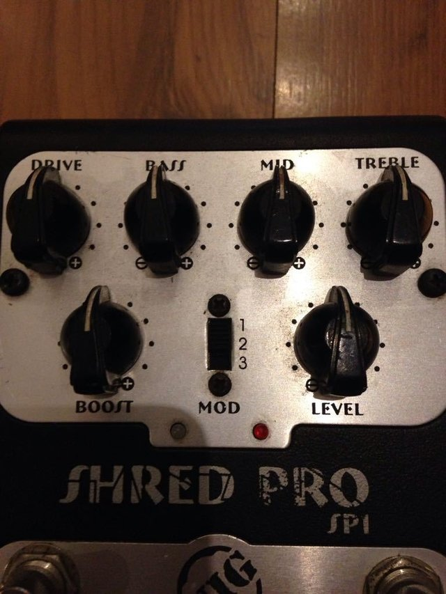 Pedal Nig Shred Pro Sp-1 - Pre-amp na internet