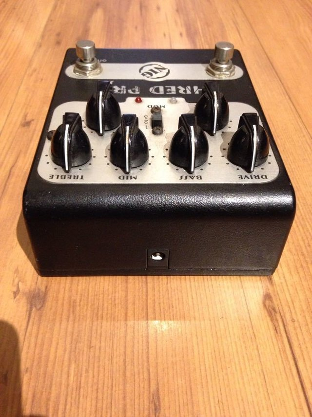 Imagem do Pedal Nig Shred Pro Sp-1 - Pre-amp