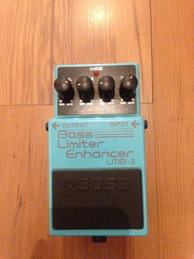 Boss LMB 3 - Bass Limiter\enhancer * - comprar online