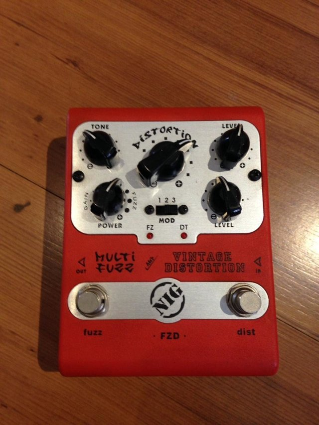 Nig Multi Fuzz Vintage Distortion - comprar online