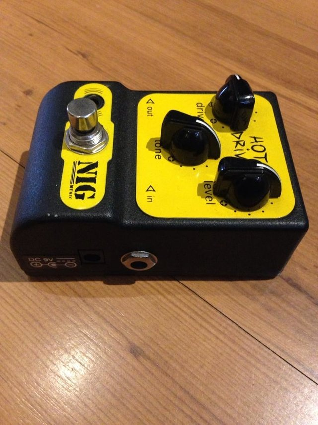 Imagem do Pedal Nig Hot Drive - Overdrive