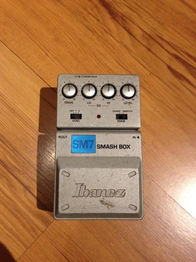 Pedal Ibanez Sm7 Smash Box - Distortion - comprar online