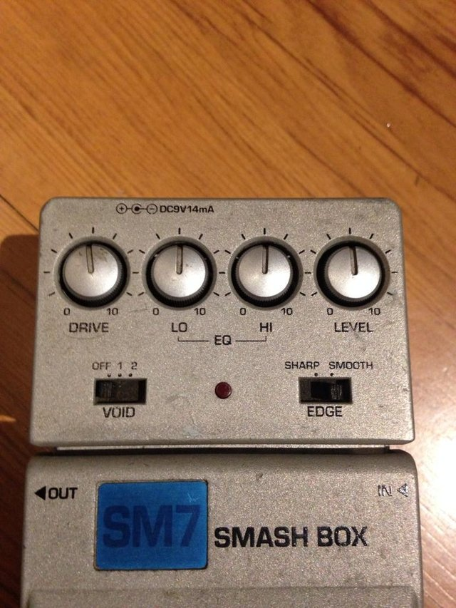 Pedal Ibanez Sm7 Smash Box - Distortion na internet