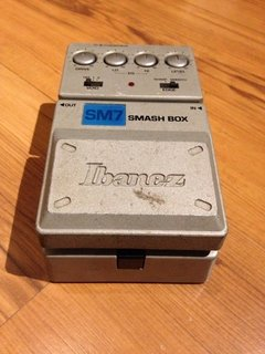 Pedal Ibanez Sm7 Smash Box - Distortion (usado) - Solsete Musical