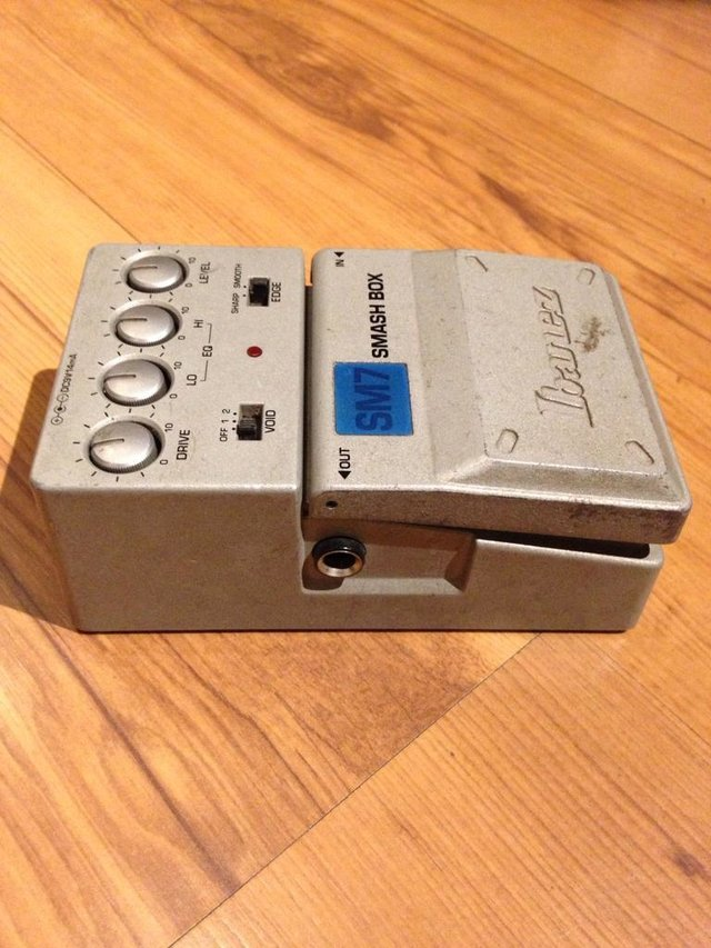 Pedal Ibanez Sm7 Smash Box - Distortion
