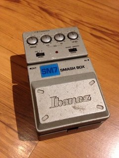 Pedal Ibanez Sm7 Smash Box - Distortion (usado)