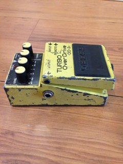 Pedal Boss Od2r - Turbo Overdrive (usado) ** - comprar online