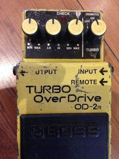 Pedal Boss Od2r - Turbo Overdrive (usado) ** na internet
