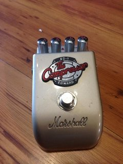 Pedal Marshall The Compressor ED-1 - Made in Japão - Usado - comprar online