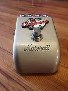 Pedal Marshall The Compressor ED-1 - Made in Japão - Usado na internet