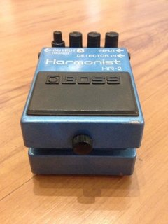 Pedal Boss Harmonist HR-2 - Pitch Shifter - Usado na internet