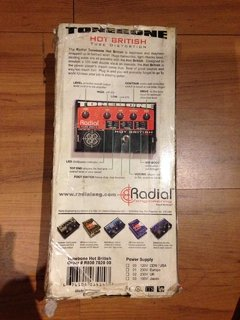Pedal Tonebone Radial Tube Drive - hot british distortion - Solsete Musical