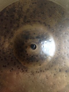"Pratos Sabian  Hand Hammered HH Duo Hi Hats 14"" - Usado na internet"