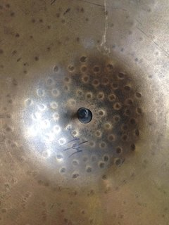 "Pratos Sabian  Hand Hammered HH Duo Hi Hats 14"" - Usado"