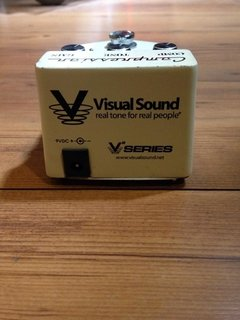 Pedal Visual Sound V2 Series Comp 66 - usado - Solsete Musical