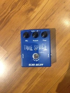 Pedal Caline ¨Time Space¨ Echo Delay CP-17 - usado - loja online