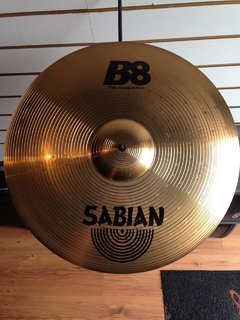 "Prato Sabian 18"" Thin Crash B8 - Usado"
