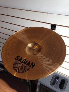 "Prato Sabian 18"" Thin Crash B8 - Usado na internet"
