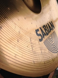 "Prato Sabian 18"" Thin Crash B8 - Usado - Solsete Musical"