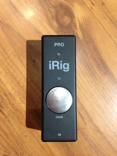 Imagem do Interface Ik Multimedia iRig Pro - usado