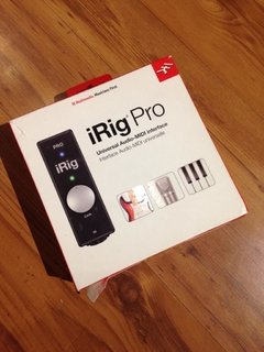 Interface Ik Multimedia iRig Pro - usado na internet