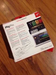 Interface Ik Multimedia iRig Pro - usado - Solsete Musical