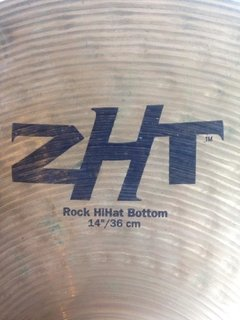Imagem do Pratos Zildjian 14'' Rock Top/Bottom Hihat ZHT - usado