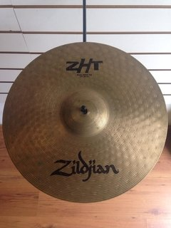 Pratos Zildjian 14'' Rock Top/Bottom Hihat ZHT - usado