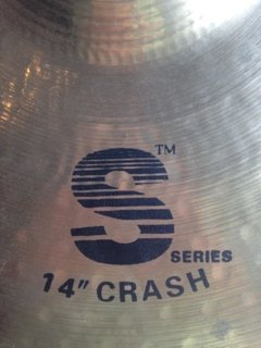 Prato Wuhan 14'' Crash S series - usado na internet