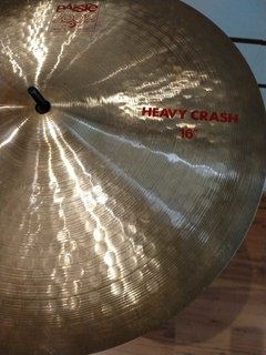 "Prato Paiste 2002 Heavy Crash 16"" - Usado"