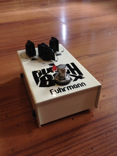 Pedal Fuhrmann Punch Box Level e Drive - Usado